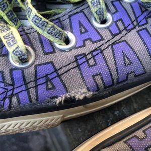 Converse Shoes - Men's size 11 limited edition Batman joker cons
